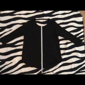 Black Loft tunic